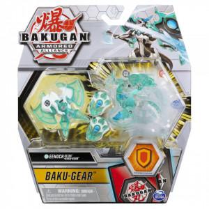 Figurina Bakugan S2 Bila Ultra Eenoch Cu Echipament Baku-Gear