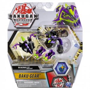Figurina Bakugan S2 Bila Ultra Sairus Cu Echipament Baku-Gear