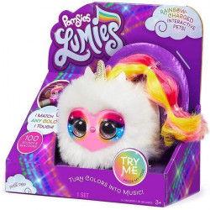 Jucarie de plus Interactiva Pomsies Lumies ,Pixie Pop