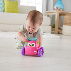 Jucarie Fisher Price, Monster Truck, Press and Go, roz