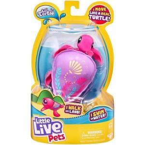 Jucarie interactiva Little Live Pets, Sandy Turtle,testoasa care inoata, 4 ani+