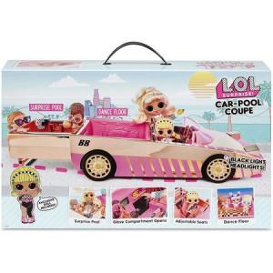 L.O.L. Surprise-Mașină Cabrio cu piscină