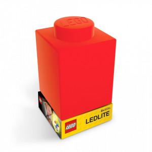 Lampa Caramida LEGO rosie