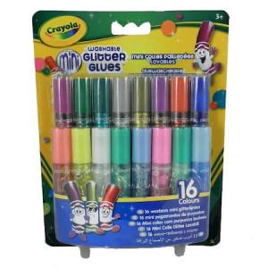 Mini-Lipici Crayola cu Sclipici