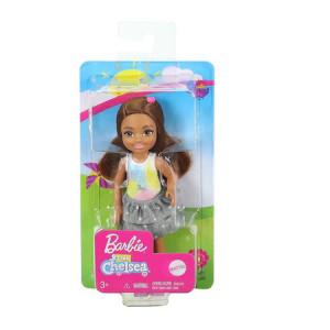 Papusa Barbie Chelsea Club par saten, tricou model unicorn