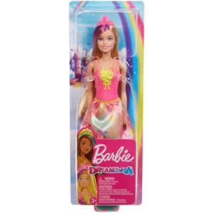 Papusa Barbie Dreamtopia - Printesa cu coronita roz