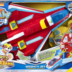 Paw Patrol-Mighty Pups Avion convertibil 2 în 1
