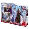 Puzzle 3 in 1 - Frozen II (3 x 55)