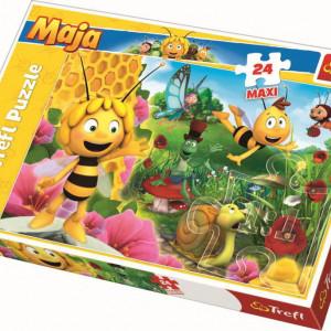 Puzzle Maxi Trefl, Lumea lui Maya, 24 piese