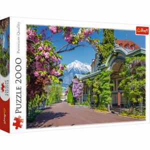 Puzzle Trefl 2000piese - Merano, Italia