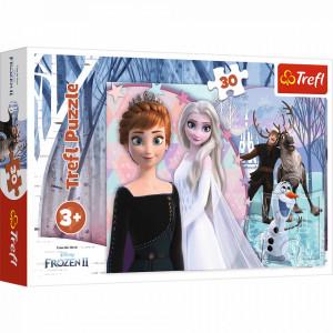 Puzzle Trefl 30piese Frozen2 - Magical Frozen
