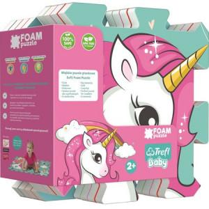 Puzzle Trefl din Spuma Unicorn,8 Piese
