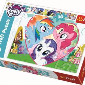 Puzzle Trefl, My little Pony, Mai bine impreuna, 30 piese