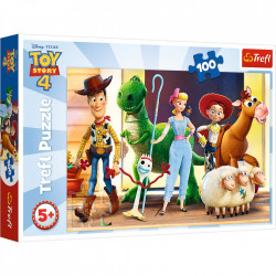 Puzzle Trefl, Toy Story 4, 100 piese