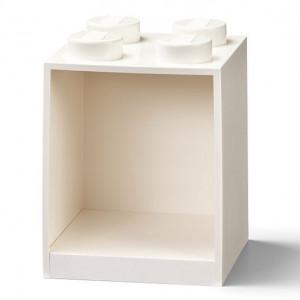 Raft Caramida LEGO 2x2 - Alb
