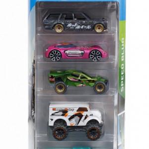 Set 5 masinute Hot Wheels, Speed Blur