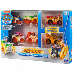 Set 6 Masinute Metalice Paw Patrol Spark Edition