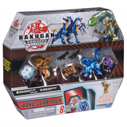 Set Bakugan Armored Alliance Baku-Gear - Ultra Howlkor Si Dragonoid Cu Baku-Gear