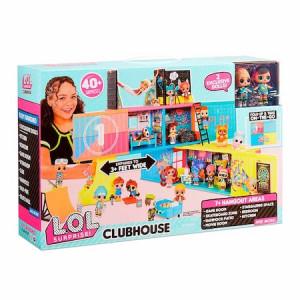 Set casa L.O.L. Surprise! Clubhouse Remix cu 2 papusi exclusive