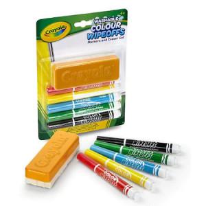Set Crayola Carioci Lavabile pentru Tabla Alba