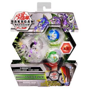 Set de joaca Howlkor Ultra, Hydorous x Batrix si Trox x Sairus Bakugan Armored Alliance