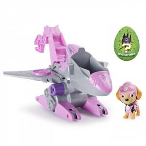 Set Figurina cu Vehicul,Paw Patrol,Skye,Dino Rescue