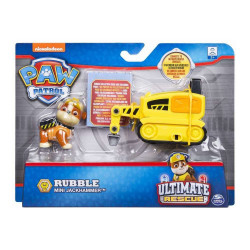 Set figurina cu vehicul Paw Patrol - Ultimate Rescue Rubble