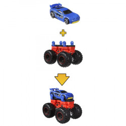 Set Hot Wheels Monster Trucks Monster Maker