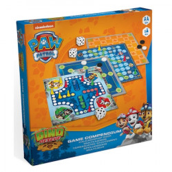 Set jocuri de societate, Game Compedium - Paw Patrol, 4 planse