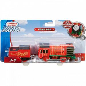 Trenulet Yong Bao Locomotiva Motorizata cu Vagon Thomas&Friends Track Master