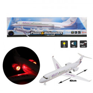 Avion de Pasageri Toi Toys cu Lumini si Sunete