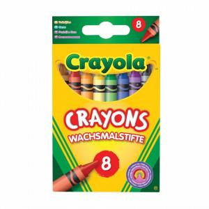 Creioane Cerate Crayola,8 culori