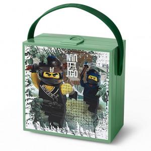 Cutie sandwich LEGO Ninjago Movie cu maner
