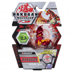 Figurina Bakugan Armored Alliance - Dragonoid, cu card Baku-Gear