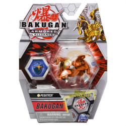 Figurina Bakugan Armored Alliance - Pegatrix, cu card Baku-Gear