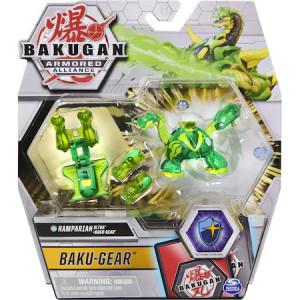 Figurina Bakugan Armored Alliance - Ultra Ramparian, Verde