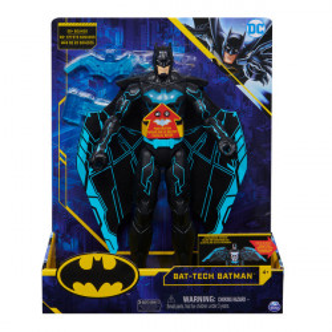 Figurina interactiva DC Batman- Bat Tech Deluxe