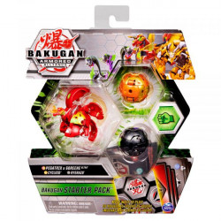 Figurine Bakugan Armored Alliance,Pegatrix Goreene Ultra,Cycloid si Ryerazu