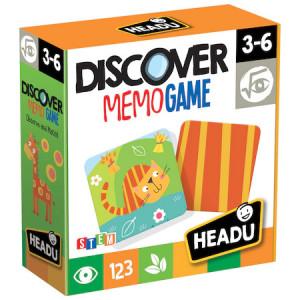 Joc educativ Headu S.T.E.M. - Descopera jocul memoriei