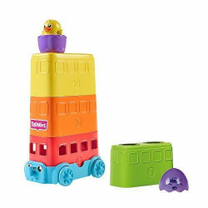 Jucarie Tomy,Autobuzul piramida,multicolor