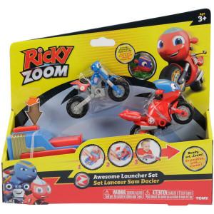 Lansator Tomy,Ricky Zoom cu 2 motociclete