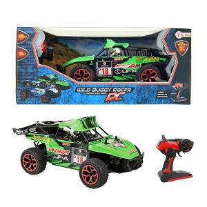 Masinuta cu Telecomanda Toi Toys - Wild Race Buggy 1:16, Verde