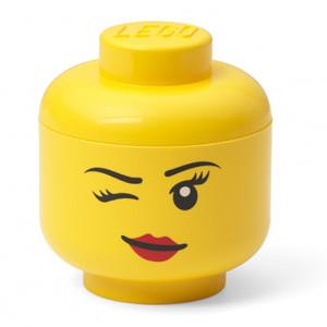 Mini cutie depozitare cap minifigurina LEGO - Whinky