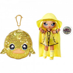 Na Na Na Surprise 2 in 1, Sparkle S1 - Papusa si accesoriu fashion, Daria Duckie