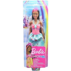 Papusa Barbie Dreamtopia - Printesa cu coronita mov
