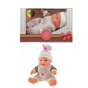 Papusa Bebelus Dormind Toi-Toys-Babydoll 23cm