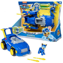 Paw Patrol Mighty Pups: Vehicule transformabile - Chase