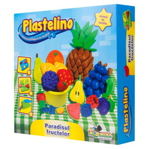 Plastelino-Paradisul fructelor