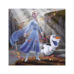 Puzzle 3 in 1 - Frozen II (3 x 55)
