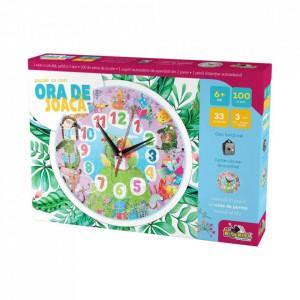 Puzzle Noriel Ora de Joaca-Puzzle cu Ceas Animale